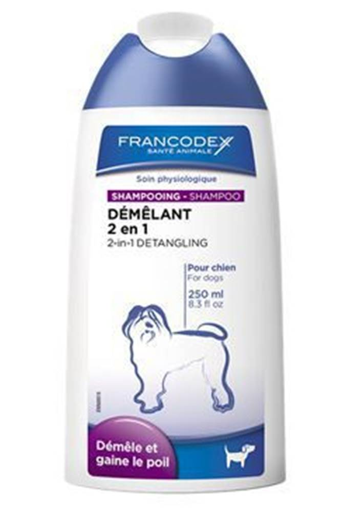 Francodex Francodex Šampon a kondicionér 2in1 pes 250ml