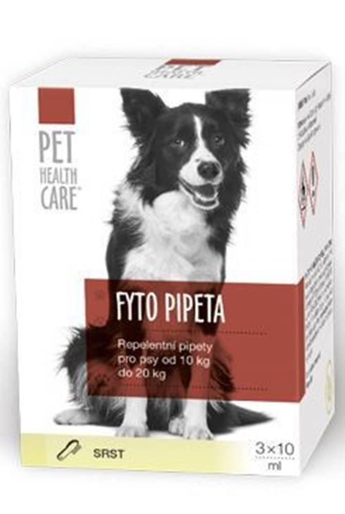 PET HEALTH CARE FYTO pipeta pre psov 10-20kg 3x10ml PHC