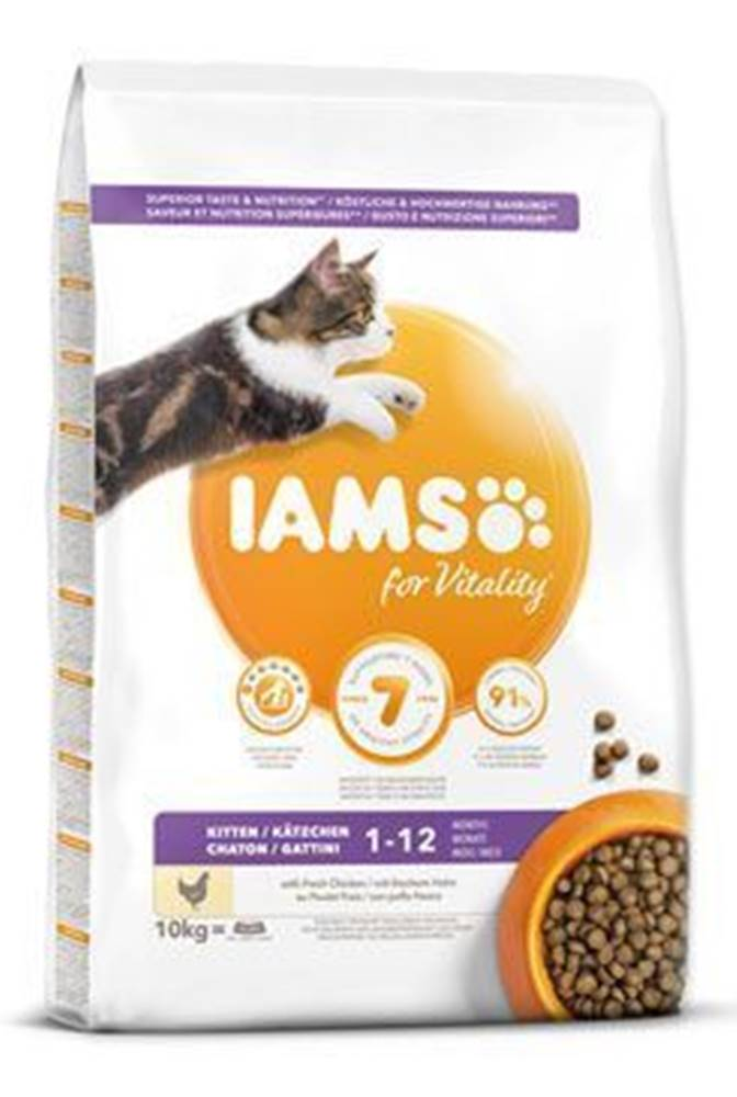 Iams Iams Cat Kitten Chicken 10kg