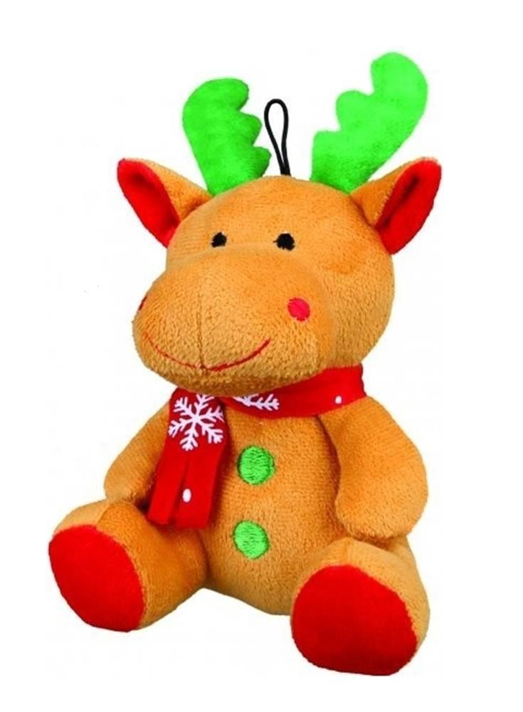 Trixie Vánoční Hračka pes Sob se šálou plyš 20cm TR 1ks*