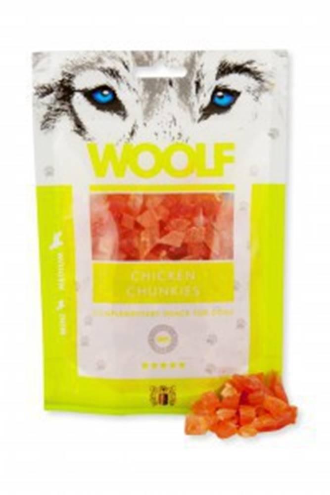 Woolf WOOLF pochoutka chicken chunkies 100g