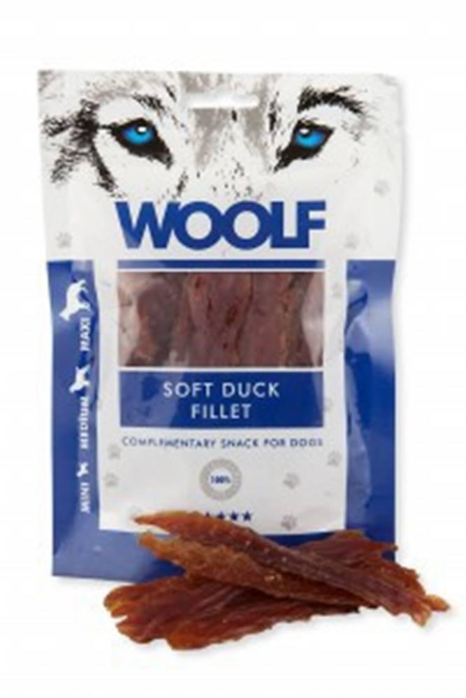 Woolf WOOLF pochoutka soft duck jerky 100g