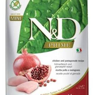 N&D PRIME DOG Adult Mini Chicken&Pomegranat 2,5kg