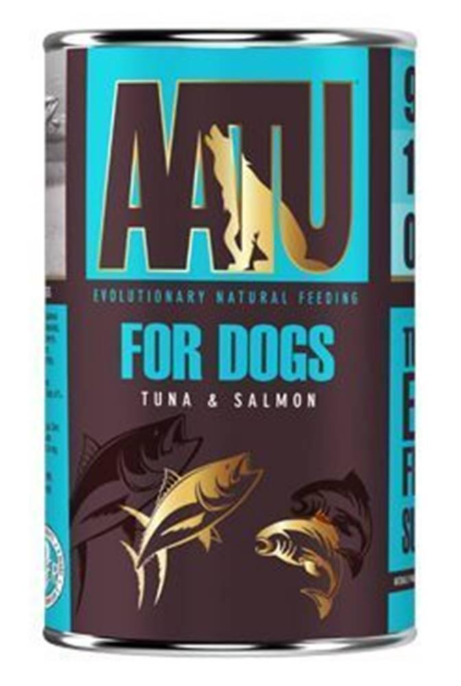 AATU AATU Dog Tuna n Salmon konz. 400g