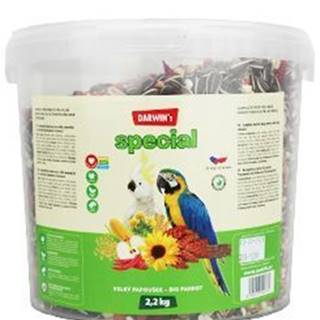 Darwin 's veľký papagáj special vedro 2,2kg