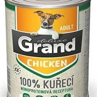 GRAND konz. pes deluxe 100% hydinové 400g