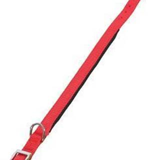 Obojok pes SOFT NYLON červený 25mm / 60cm Zolux