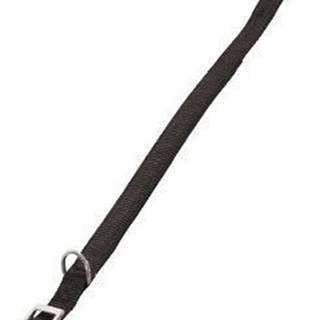 Obojok pes SOFT NYLON čierny 25mm / 65cm Zolux