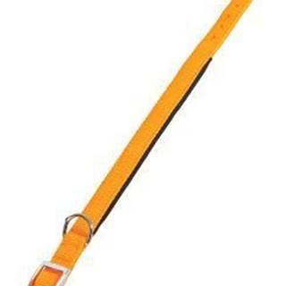 Obojok pes SOFT NYLON oranžový 25mm / 60cm Zolux