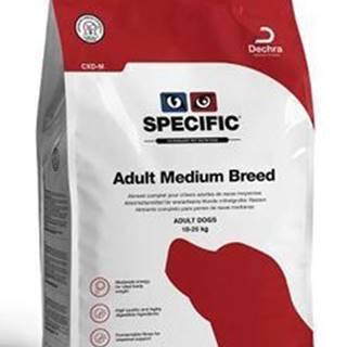 Specific CXD-M Adult Medium Breed 4kg pes