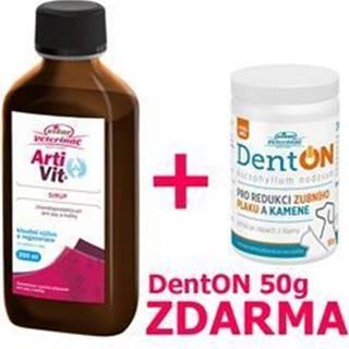 VITAR Veterinae ArtiVit Sirup 200ml+DentON 50g