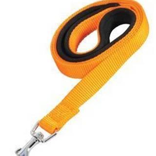 Vodítko pes SOFT NYLON oranžovej 20mm / 1m Zolux