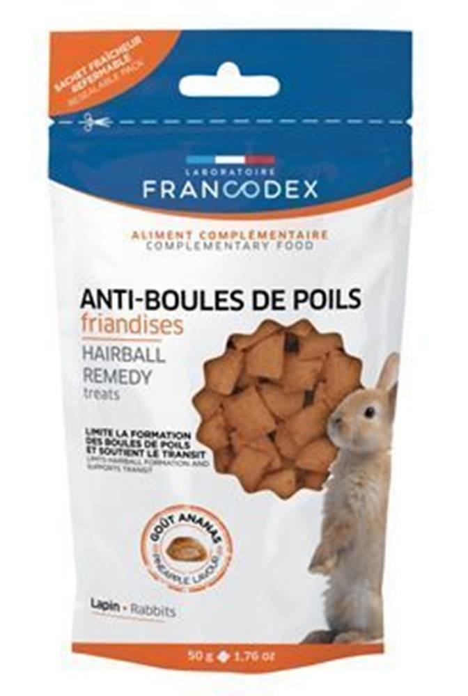 Francodex Francodex Pochúťka Hairball remedy králik 50g