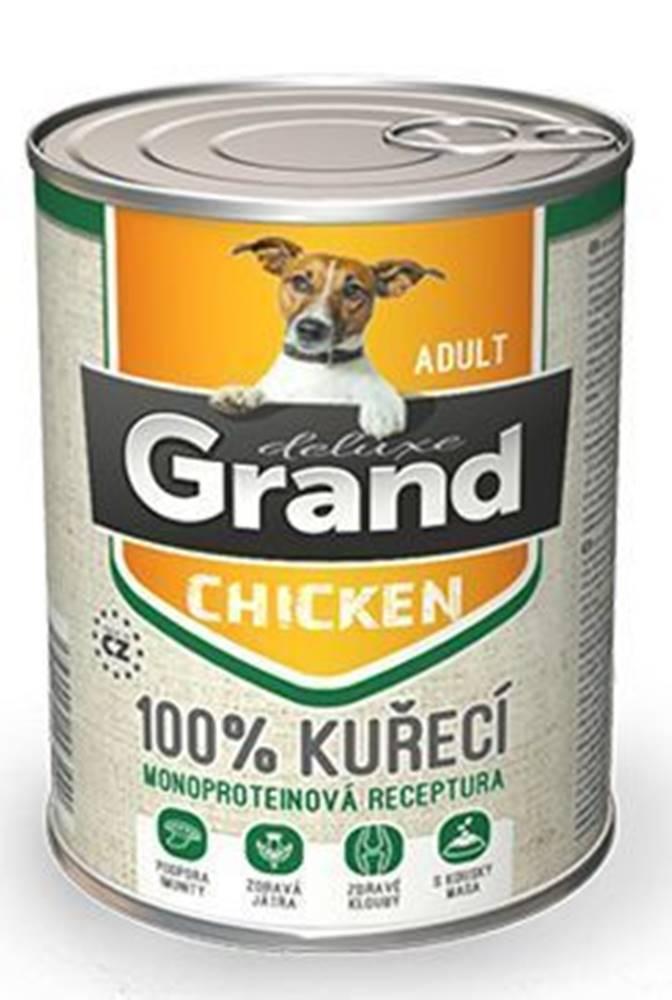 Grand GRAND konz. pes deluxe 100% hydinové 400g