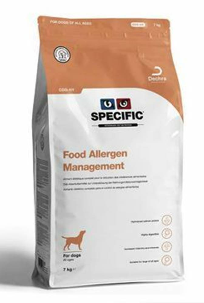 Specific Specific CDD HY Food Allergy Management 12kg pes