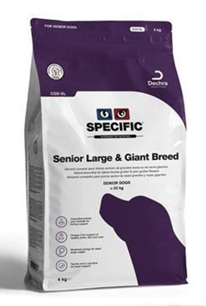 Specific Specific CGD-XL Senior Large & Giant Breed 12kg pes