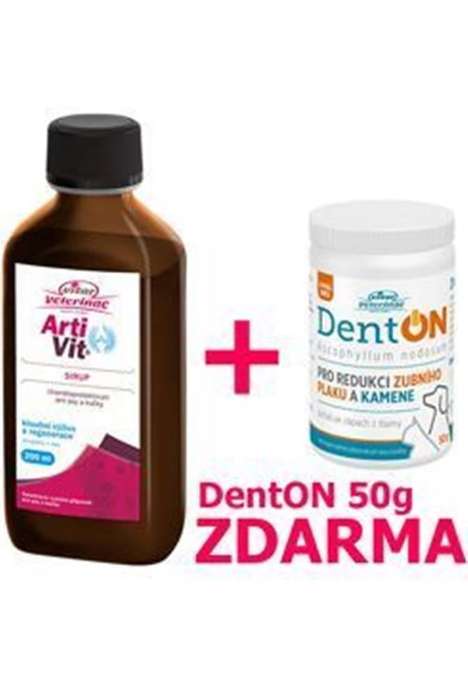 Nomaad VITAR Veterinae ArtiVit Sirup 200ml+DentON 50g