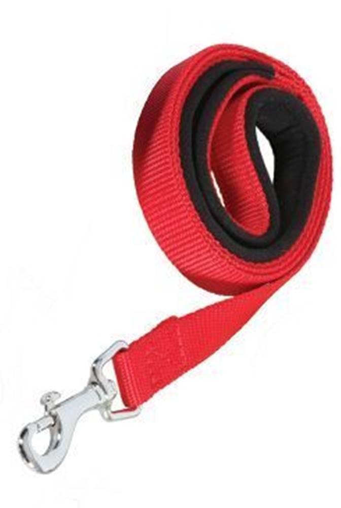 Zolux Vodítko pes SOFT NYLON červené 20mm/1m Zolux