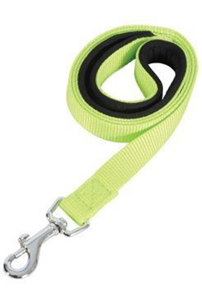 Zolux Vodítko pes SOFT NYLON zelenej 20mm / 1m Zolux