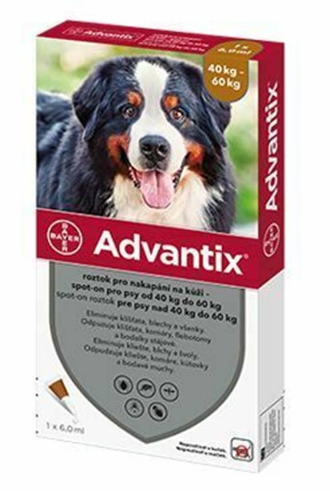 Advantix Advantix Spot On 1x6ml pre psov 40-60kg (1pipeta)