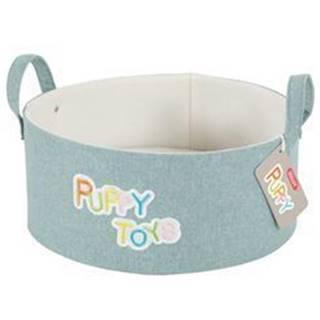 Kôš na hračky PUPPY mentolová Zolux