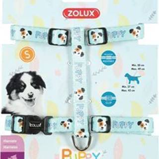 Postroj pes šteňa MASCOTTE nastaviteľný modrý 13mm Zol