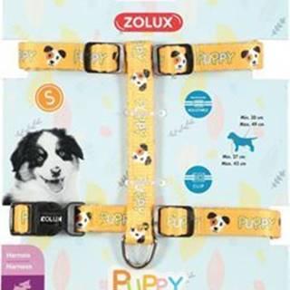 Postroj pes šteňa MASCOTTE nastaviteľný žltý 13mm Zol