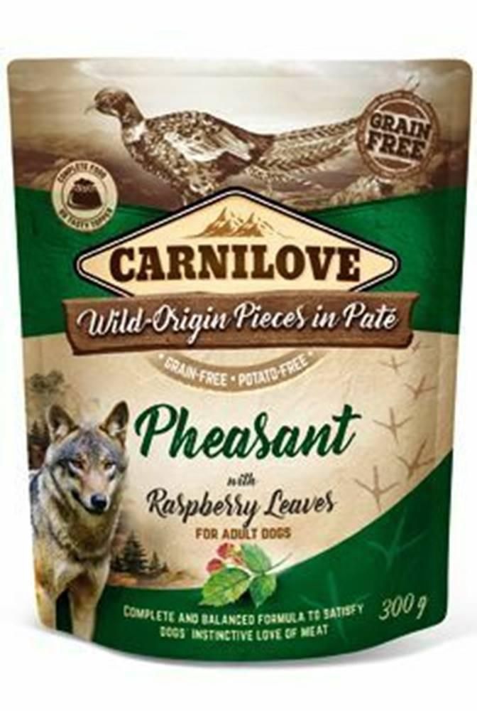 Carnilove Carnilove Dog Pouch Paté Pheasant & Raspberry 300g