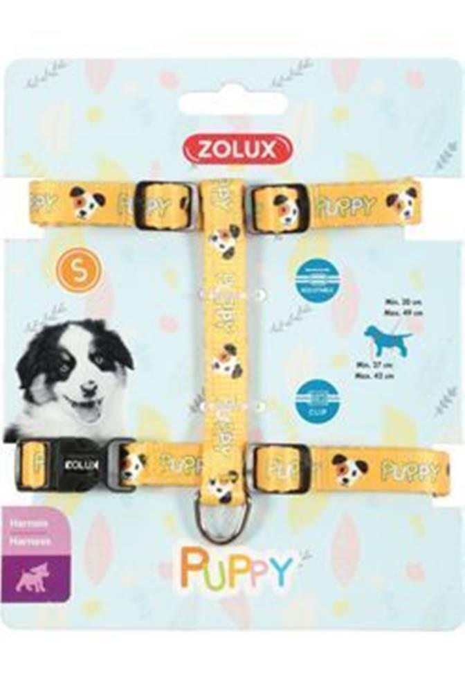 Zolux Postroj pes šteňa MASCOTTE nastaviteľný žltý 8mm Zolu