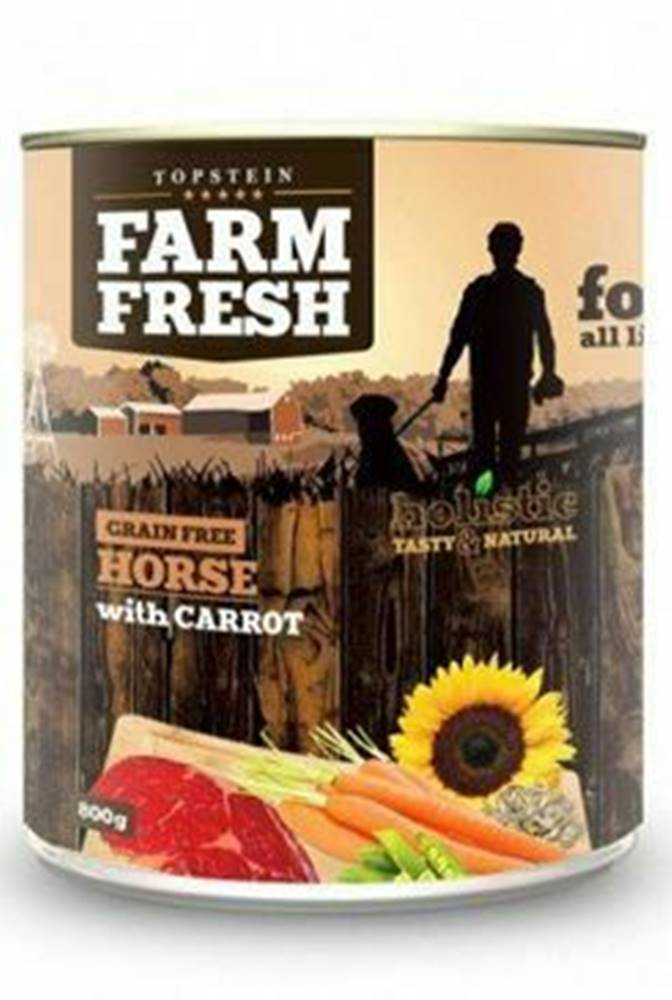 Farm Fresh Farm Fresh Dog Horse with Carrot konzerva 800g