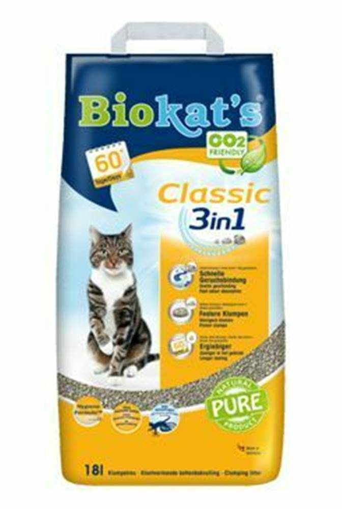 Biokat ´s Podestýlka Biokat's Classic 18L