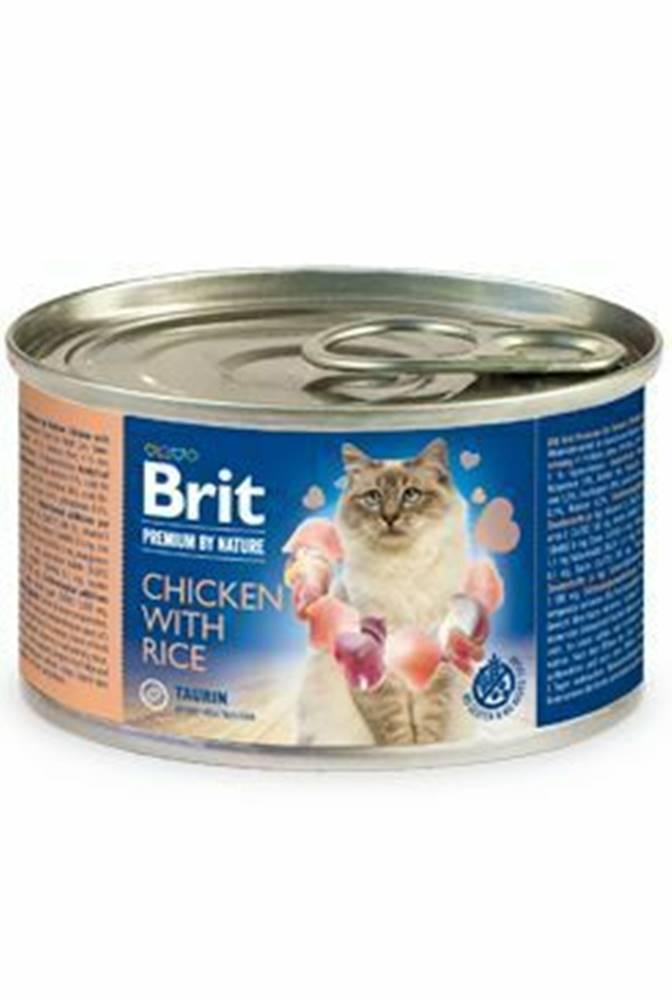 Brit Premium Brit Premium Cat by Nature konz Chicken&Rice 200g