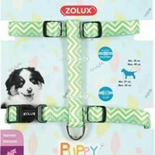 Postroj pes šteňa PIXIE nastaviteľný zelený 8mm Zolux
