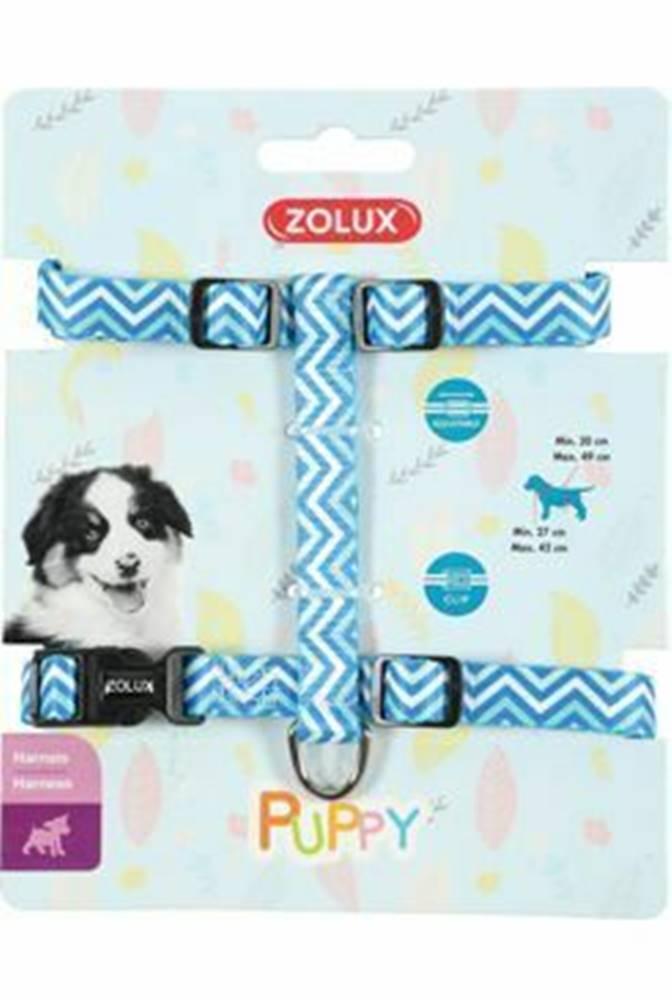 Zolux Postroj pes šteňa PIXIE nastaviteľný modrý 8mm Zolux